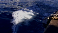 Stock Video Footage of Sailing ship in the sea