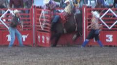 Bucking Bronco - stock footage
