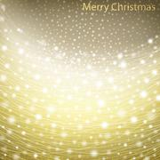 Glowing Christmas Background Stock Illustration