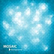 Mosaic Background - stock illustration