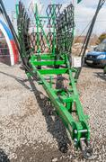 Agriculture equipment on exhibition. Tyumen.Russia - stock photo