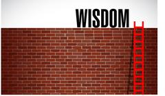 Ladder to wisdom. illustration design Stock Illustration