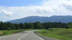 New roads altai krai. russia. Stock Footage