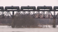Stock Video Footage of Crude oil transported by rail
