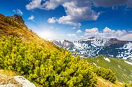 Stock Photo of mountain landscape