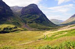 Scotland - Glencoe - stock photo