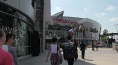 Staples Center Exterior Day 04 Arkistovideo