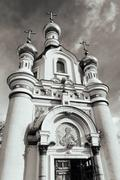 Chapel of Saint Great Martyr Ekaterina, Yekaterinburg Stock Photos