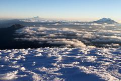 Stock Photo of cotopaxi summit view