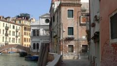 Venice, Canale della Parrocchia di San Zaccaria 023 Stock Footage
