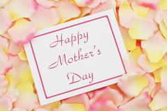 happy mother's day card - stock photo