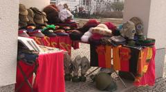 Souveniers in Berlin Stock Footage