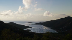 Dawn Timelapse - Coral Bay, St. John, USVL Stock Footage