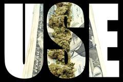 Marijuana use Stock Illustration