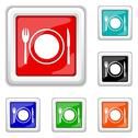 Stock Illustration of restaurant icon