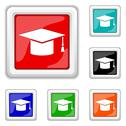 Stock Illustration of graduation icon