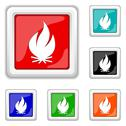Stock Illustration of fire icon