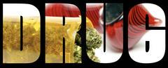 marijuana drug - stock illustration