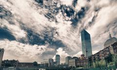 Architecture Detail of Boston Stock Photos