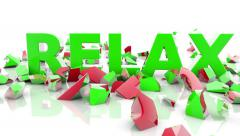 Stress,Relax - stock footage