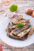 herrings - stock photo