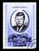 postage stamp. - stock photo
