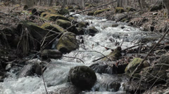 High mountain stream 1 - stock footage