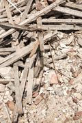 Stock Photo of rubble
