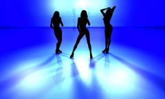 dancefloor - stock illustration