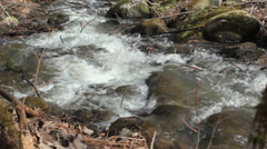 High mountain stream 3 - stock footage