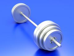 Stock Illustration of weights