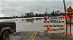 Flood Disaster Stock Footage