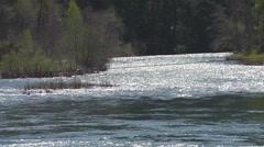 Leaburg, Oregon Hydroelectric Dam 4 Stock Footage