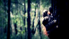 Bigfoot #4 Sasquatch 1080p Close up hand shot Arkistovideo
