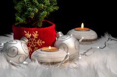Christmas ornaments festive mood Stock Photos