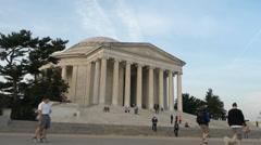 Jefferson Memorial Stock Footage