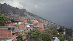 Slums of Medellin Stock Footage