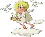 Stock Illustration of angel