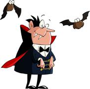 dracula - stock illustration