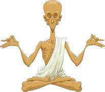 Stock Illustration of meditation