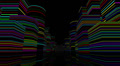 Neon Light City F1B1 4k Footage
