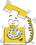 Telephone Stock Illustration