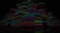 Neon Light City F2B1 4k Footage