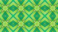 Green Kaleidoscope background, loop 3 HD Footage