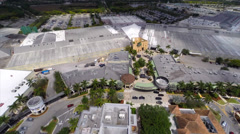 Aerial video of Sawgrass mall Stock Footage
