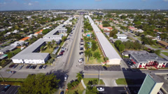 Aerial video Hallandale Stock Footage