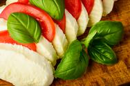 Stock Photo of caprese salad