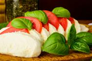 Stock Photo of traditional caprese salad