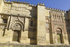 The great mosque in cordoba, spain. Stock Photos