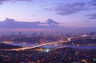 Stock Photo of Istanbul Turkey Bosporus Bridge